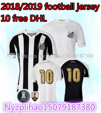 931a2750e 2019 2018 2019 Santos FC Soccer Jersey 18 19 Santos Home Away Gabriel  RODRYGO DODO RENATO SASHA Football Shirts From Nyzplihao15079187380