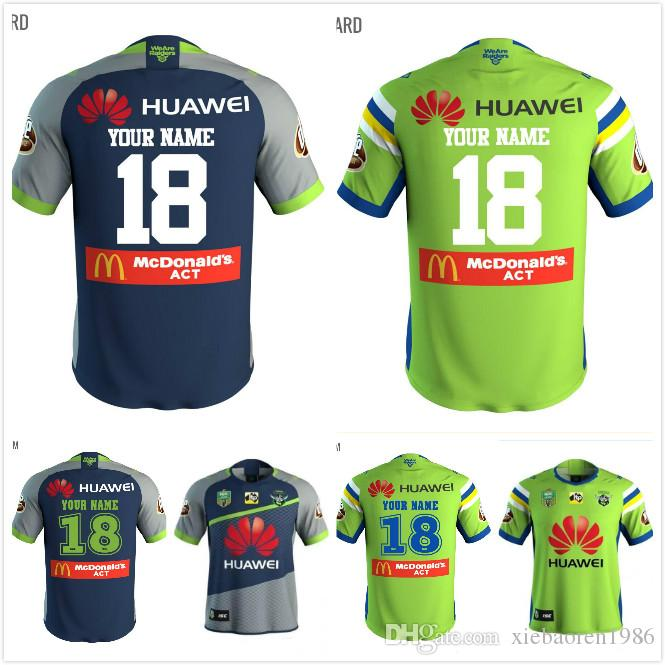 34ce4a510 ... cheap online cheap 2018 nrl jerseys canberra raider s rugby 18 19  oakland canberra raider home ...