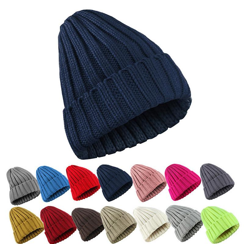 6f40d946909b9 2019 Knitted Hat Women Crochet Knit Cap Winter Skullies Beanies Warm Caps  Girls  Stylish Hats For Ladies Fashion Wholesale From Lvmangguo