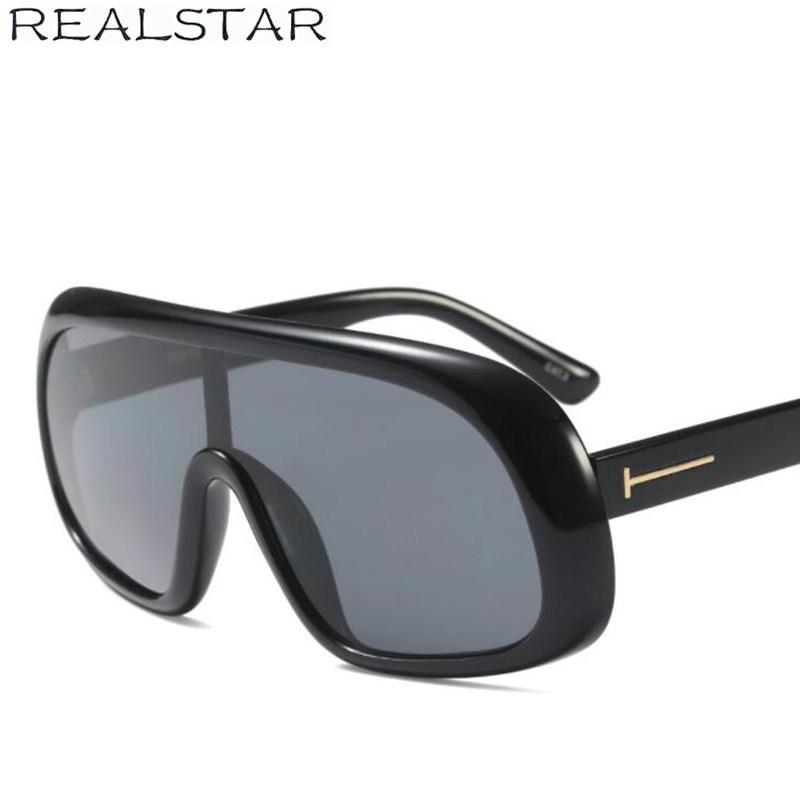 c3377fbc38 REALSTAR 2018 Tom Oversized Designer Sunglasses For Women Brand Fashion Sun Glasses  Female Luxury Eyewear Shades Oculos S433 Best Sunglasses For Men Vuarnet ...