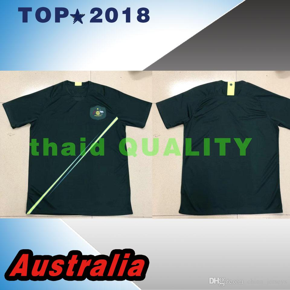 d5a4c46ae 2019 2018 World Cup Australia Jersey Home Green Away Soccer Jersey 18 19  Australia National Football Shirts From China jerseys