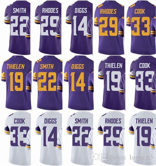 2019 Minnesota Viking Jersey Men S  33 Dalvin Cook 14 Stefon Diggs 22  HARRISON SMITH 19 Adam Thielen  Untouchable Limited Jerseys From  Dfdwddjersey9 e8919625e