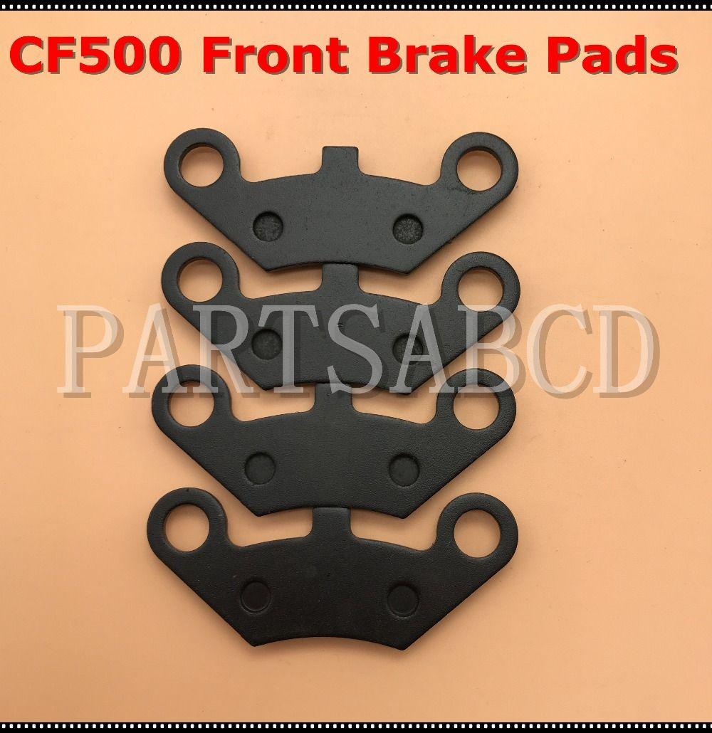 2 Sets Front Brake Pad Semi metallic for CFMoto CF500 CF188 CF196 CF600  600CC X5 X6 X8 U5 ATV