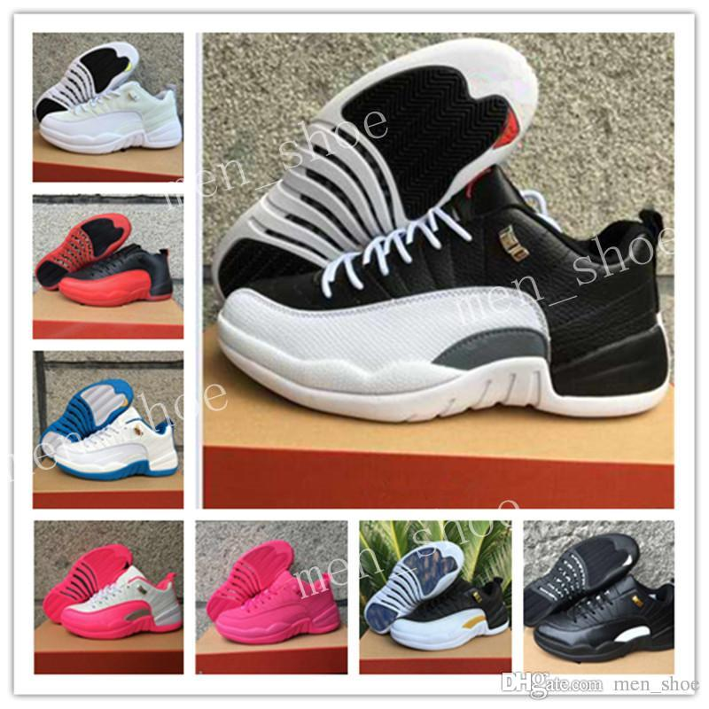 61e10ff0d218 With Box 12 XII Low Basketball Shoes Sneakers Men Women Shoes Blue ...