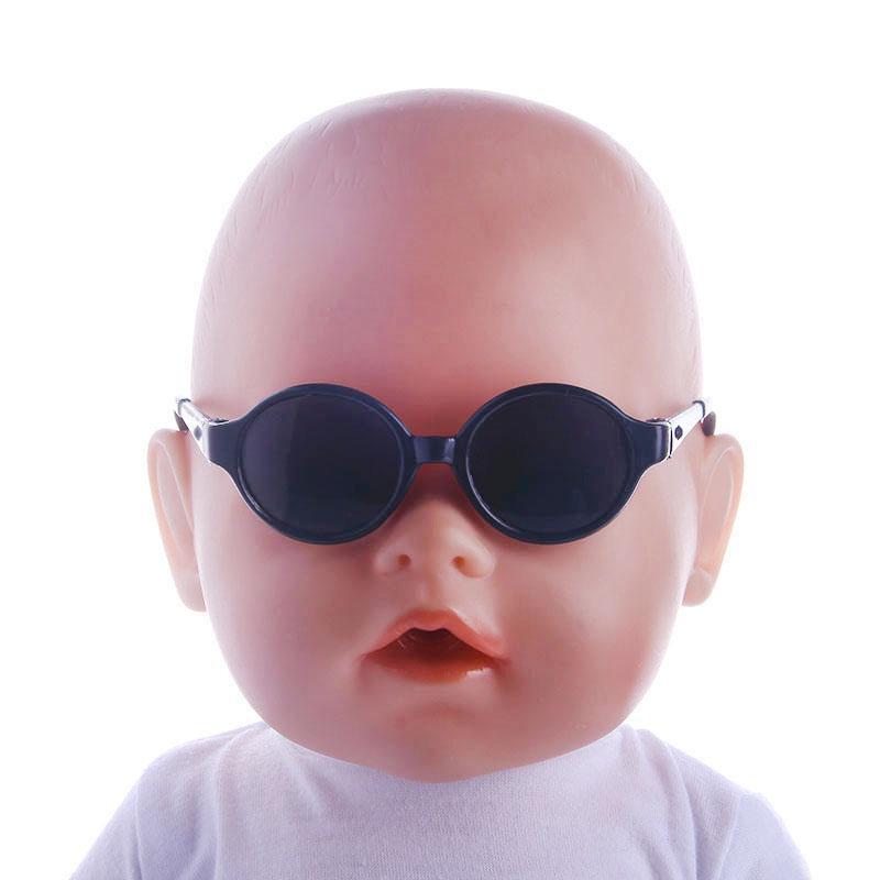 867efcfc2fca11 Cinq nouvelles lunettes de soleil de mode Fit For American Girl Doll 18  pouces American Girl Doll, 43CM Accessoires de poupée bébé nouveau-né