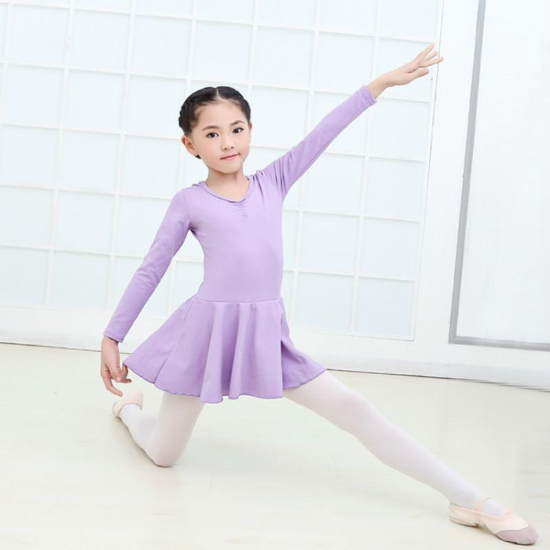 52e67ac54 Leotards Gymnastics for Girls Long Sleeve Ballet Kids Competition ...
