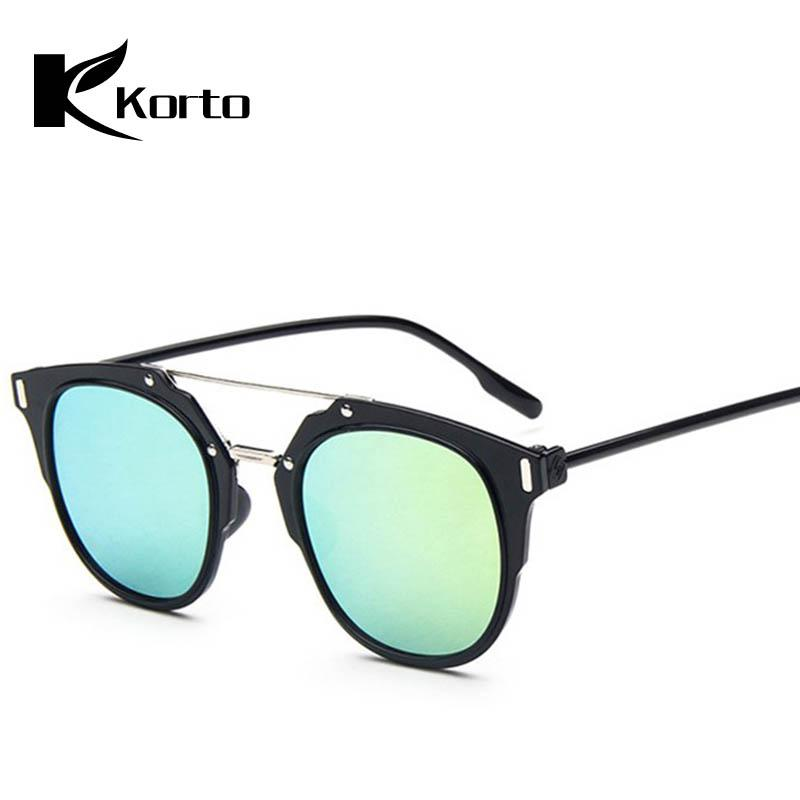9ee357850c36 Luxury Women Men Anti-Glare Aviator Sunglasses Blue Mirror Eyewear ...