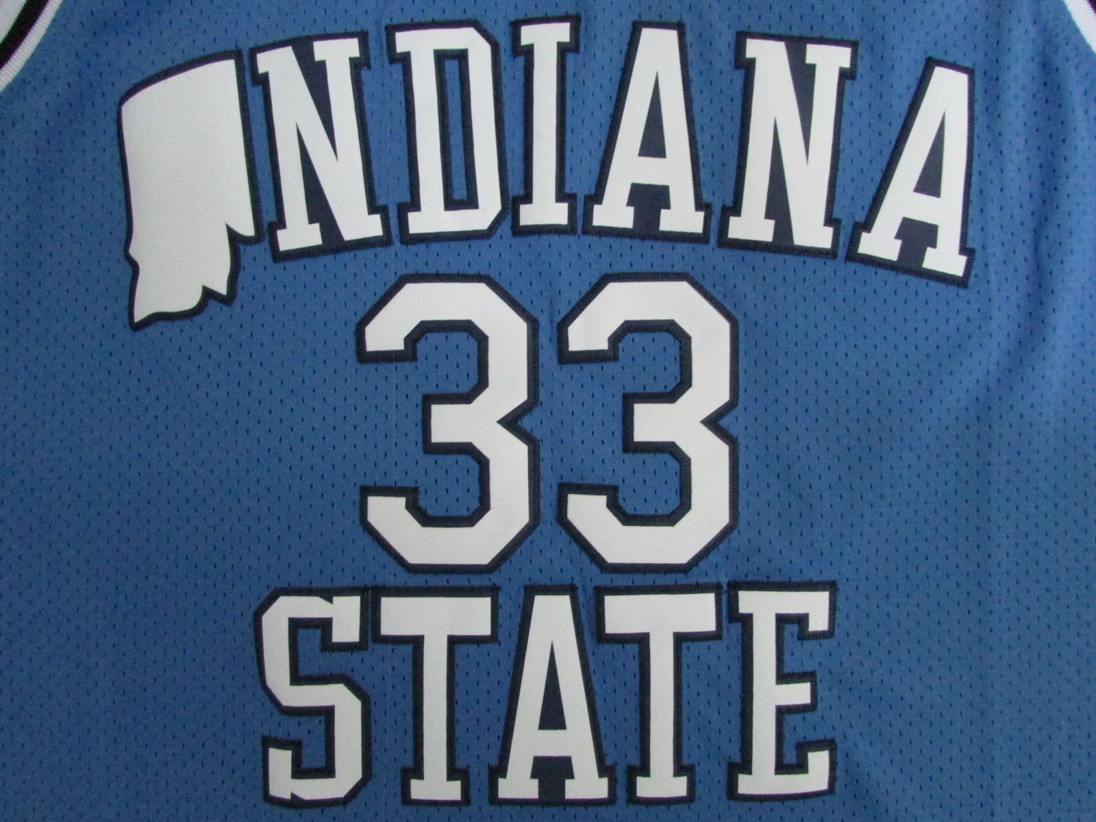 Cheap Men's INDIANA State College #33 Larry Bird Jersey NCAA Stitched 1992 Dream Team USA #7 Bird Basketball Jerseys Drop Shipping Movie