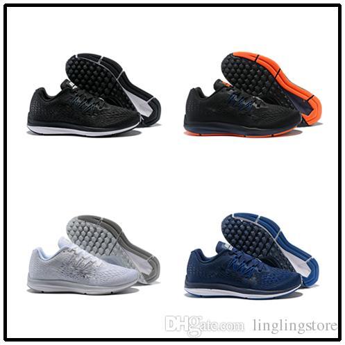 a70a3e6e3b6 Compre Nike Zoom Winflo 5 2018 ZOOM WINFLO 5 Tênis Para Caminhada Dos Homens  Caminhadas De Corrida Ao Ar Livre Sapatos De Grife Sapatos De Marca  LUNARLON ...