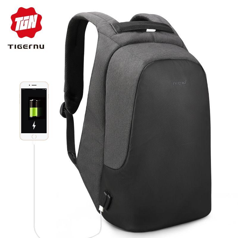 0707410d29d0 Tigernu Brand Men Women Anti Theft Backpack For 15.6 Laptop Casual Travel  Waterproof Backpacks School Bag For Teens Boys Girls Dakine Backpacks Back  Pack ...
