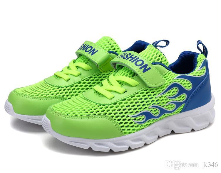 Verte Chaussures Sneaker Sport Air Léger De En Plein Jeff Course Poids Couleur Ybf76gy