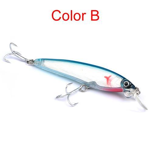 New Artificial Realistic Fish Minnow Wobbler Lures 12cm 19g High Quanlity Brand DOG WALKING Laser Swimbaits Bass fishing bait hooks