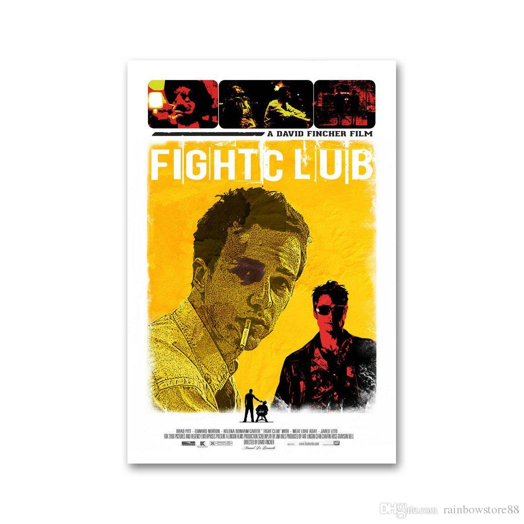 Buy Cheap Paintings For Big Save, Fight Club Movie Vintage Art Silk ...