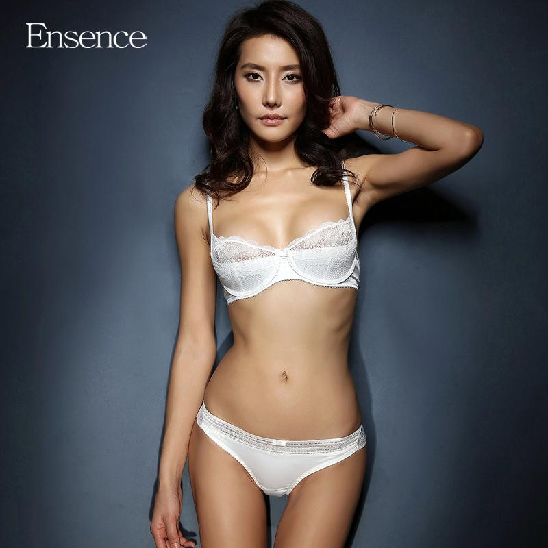 a63c395d8d 2019 Ensence Women Summer Thin Style Lace Sexy Beauty Bra Sets Girls  Breathable Underwear Deep V Lingerie Sets From Dayup