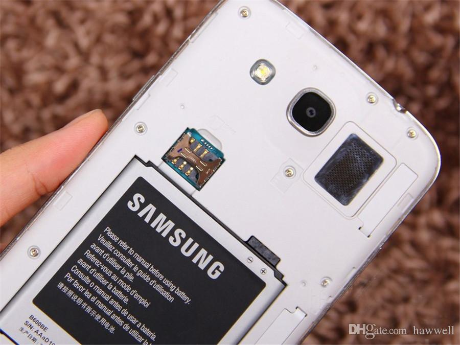 Original Refurbished Samsung Galaxy Mega 5.8 i9152 Dual SIM 5.8 inch Dual Core 1.5GB RAM 8GB ROM 8MP 3G Unlocked Android Phone DHL