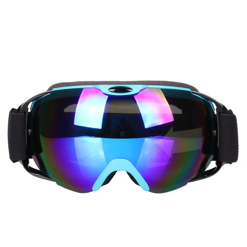 e5053f6bc7e Ski Goggles Men Women Double Lens UV Anti-fog Skiing Eyewear Snow ...