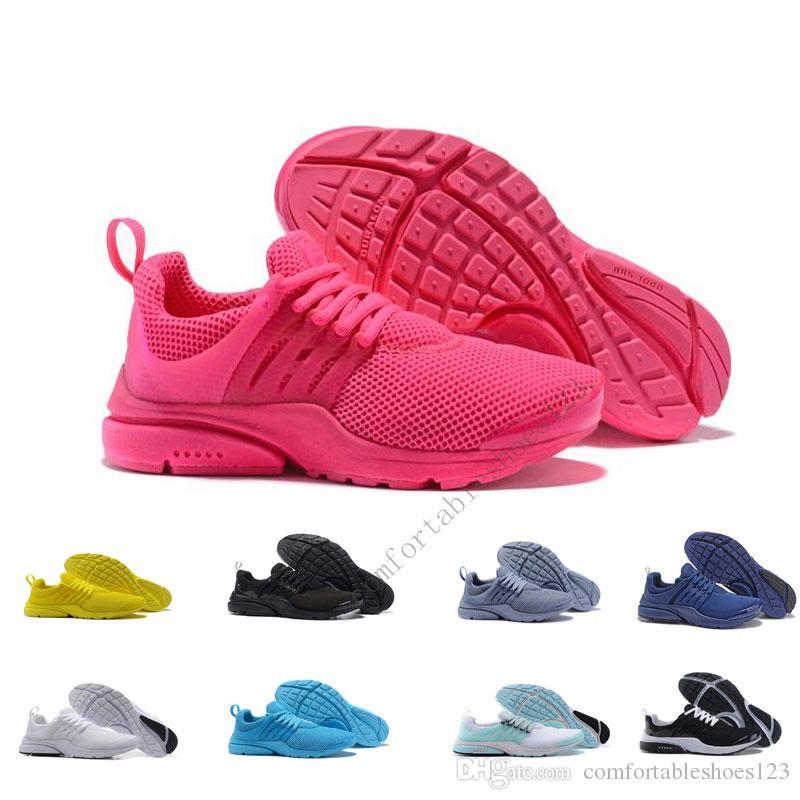 2019 New Light PRESTO BR QS Breathe Yellow Black White Mens Prestos Casual  Shoes Sneakers Women Casual Shoes Men Normal Motion Size Skechers Shoes Mens  ... ea768a1dd