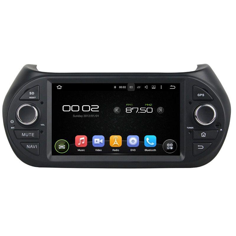 Car DVD player for Fiat Fiorino 7 inch Andriod 8.0 with GPS,Steering Wheel Control,Bluetooth, Radio,2GB RAM+32GB ROM