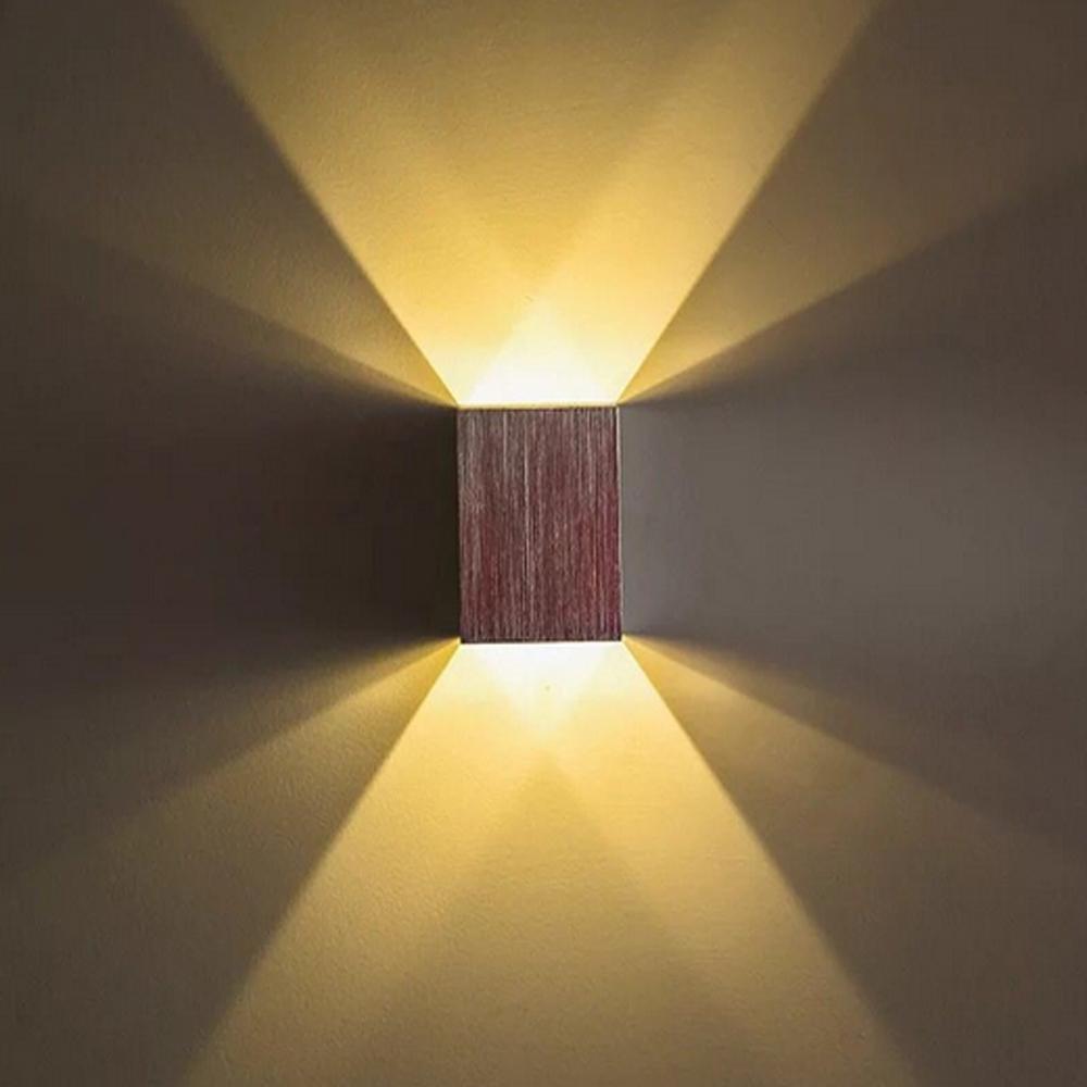 2018 Led Wall Lamp Waterproof Cube Cob Led Light Wall Lamp Modern ...
