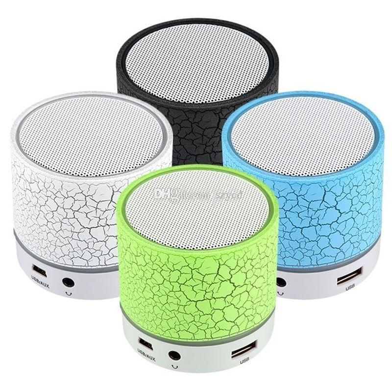 LED MINI Portable Wireless Bluetooth Speaker A9 TF USB Music Sound Stereo with Mic for Phones