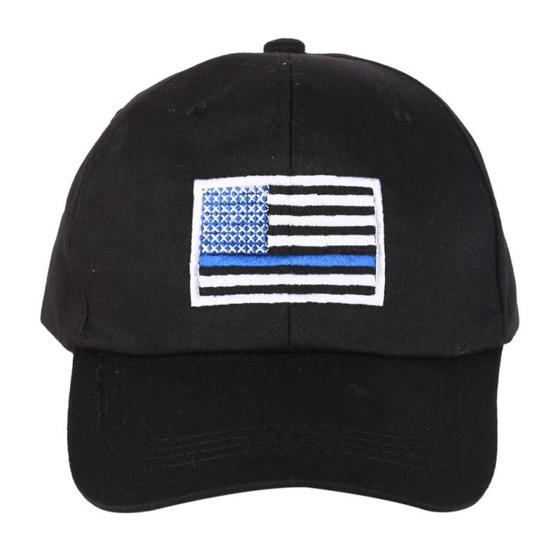 2019 American Flag Thin Blue Climbing Cap Low Profile Tactical Hats For Law  Enforcement Back The Blue Embroidered Cap From Youtuo e19b369662d
