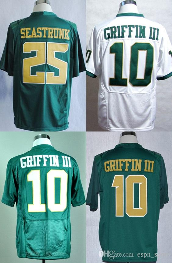 85413efb10c 2019 New Arrival Men Women Kids Giffin III 10 Seastrunk 25 White Green  College Football Jersey From Espn_sport, $22.33 | DHgate.Com