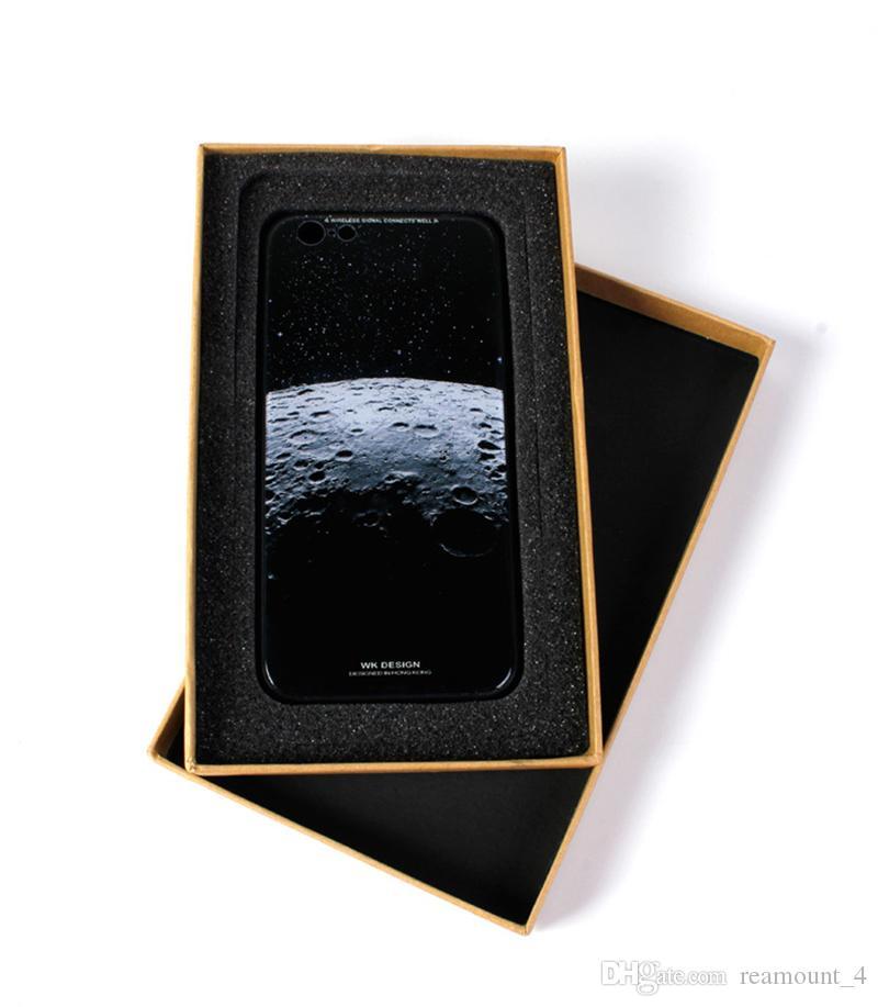 Großhandel Drucken Sie Ihr eigenes Logo Universal-Luxus Festcard Verpackung Box für Telefon-Kasten für iPhone X Einzelhandel Geschenk-Verpackung