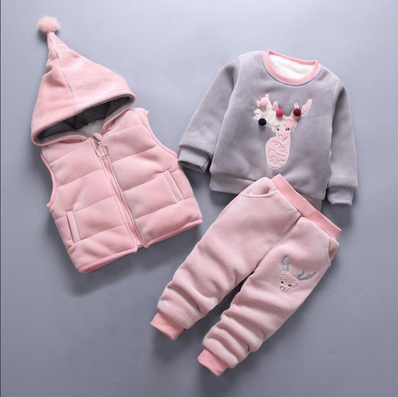 f6f448797e37 2019 Children S Clothing Sets Baby Girl Clothes Suit For Toddler ...