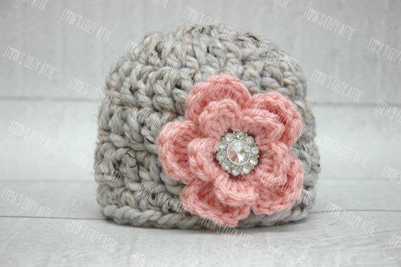 67a73e2aeaa 100 %Cotton Baby Flower Hat With Beautiful Buttons