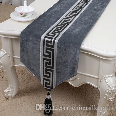 Handmade Luxury Velvet Vintage Lace Table Runner Decoration ...