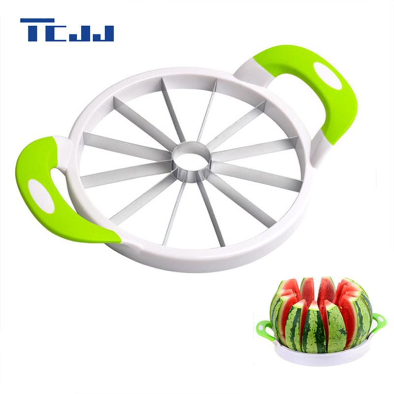 Round Watermelon Knife Slicer Cutter Kitchen Cutting Tools Fruit Knife For Watermelon Kitchen Accessories Gadgets