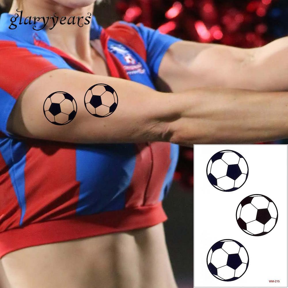 Glaryyears 50 Hojas 2018 Copa Mundial De Fútbol Diseños De Tatuajes