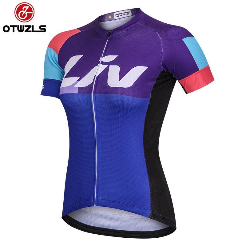 6a2bfaa00 2018 Women Cycling Jersey Ropa Maillot Ciclismo Summer Short Sleeve ...