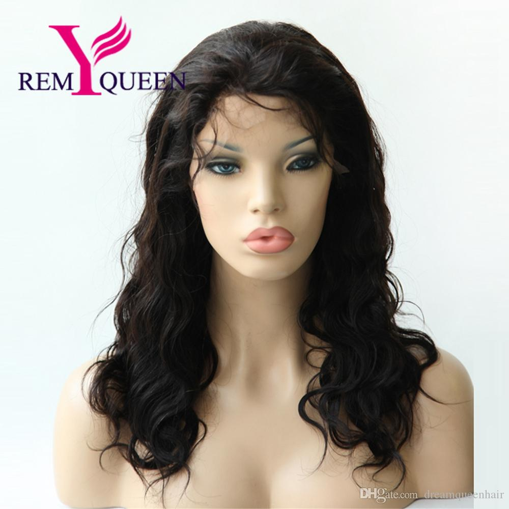 Remy Queen Brazilian Luxury Body Wave Full Lace Wig For Black Women 130% Density Cheaper Price Double knots