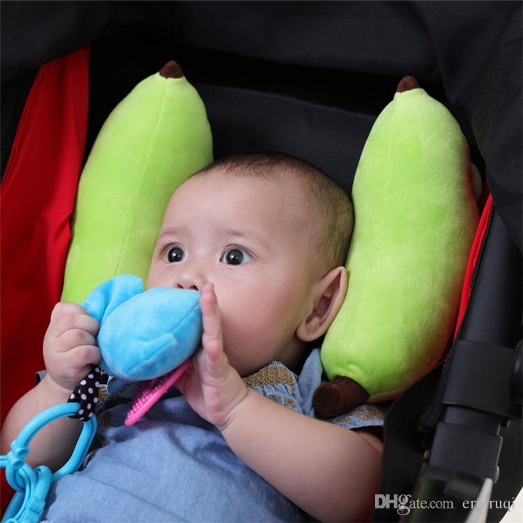 2018 New ChildrenS Car Seat Headrest Baby Protection Cervical Vertebra Travel Head Pillows Foam Pillow Breathable For Toddler From Erniruqi