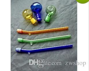 Stained glass pot hookah smoking pipe Glass gongs - oil rigs bongs glass hookah smoking pipe - vap- vaporizer