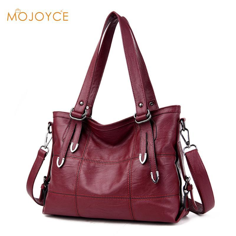 87f06f5224a0 MOJOYCE Large Soft Leather Bag Women Handbags Ladies Crossbody Bags For  Women Shoulder Bags Female Big Tote Sac A Main Hobo Bags Designer Bags From  Chicbagg ...