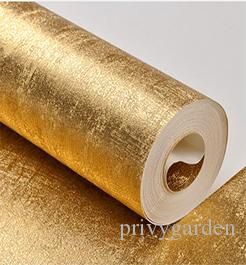 Metallic Silvergold Copper Luxury Modern Texture Wallpaper Roll Sparkle Gold Foil Grasscloth Vinyl Pvc Wall Paper Home Decor Wallpaper For Walls  D Photo