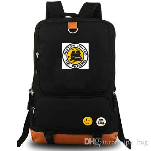 23b2d4a2e5 Acquista Zaino Pellegrini Boston United Daypack York Street Zaino Da Calcio  Zaino Da Calcio Zaino Scuola Di Tela Outdoor Day Pack A $30.1 Dal Tpx_bag  ...