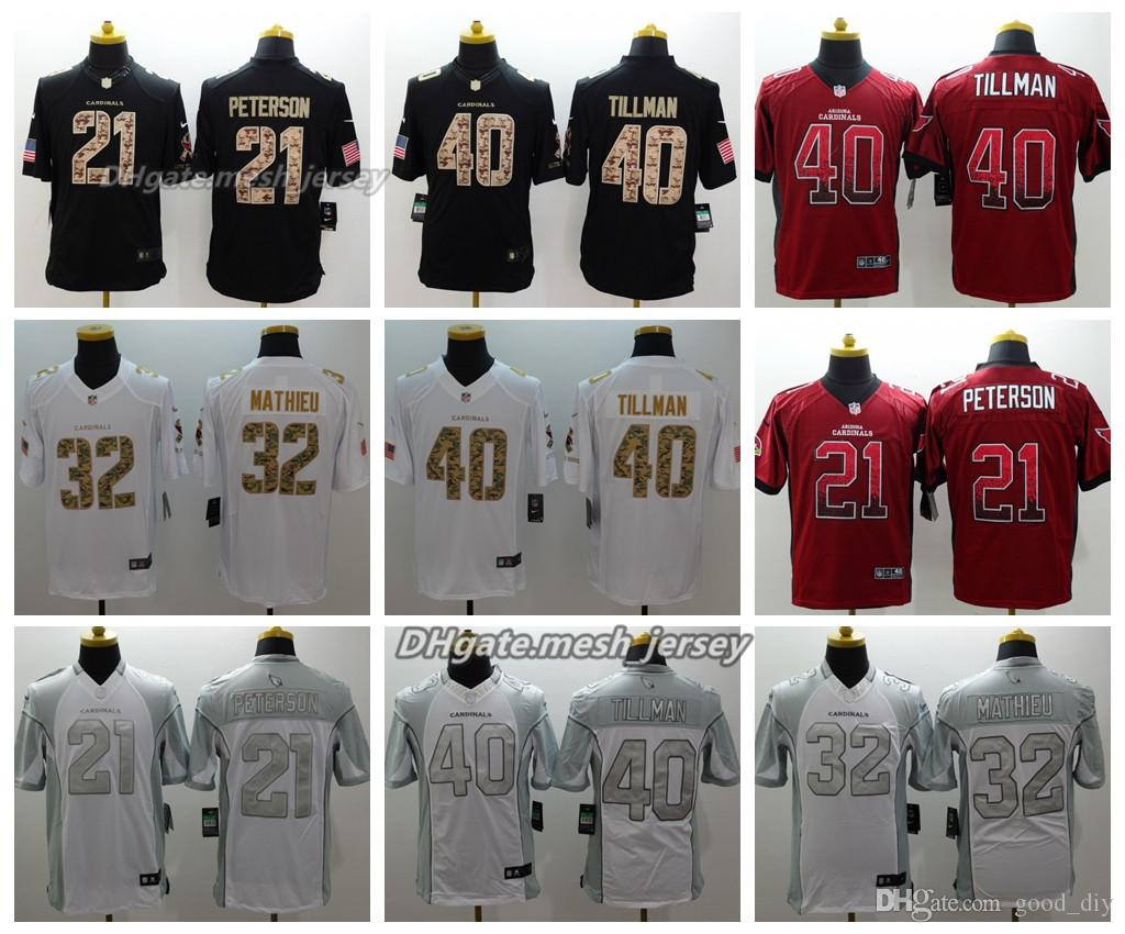 huge discount 4e0af ae8a4 new zealand patrick peterson color rush jersey fa376 5ac07