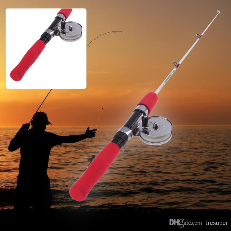 60cm Winter Fishing Rods Ice Fishing Rods Fishing Reels Choose Rod Combo Pen Pole Lures Tackle Spinning Casting Hard Rod