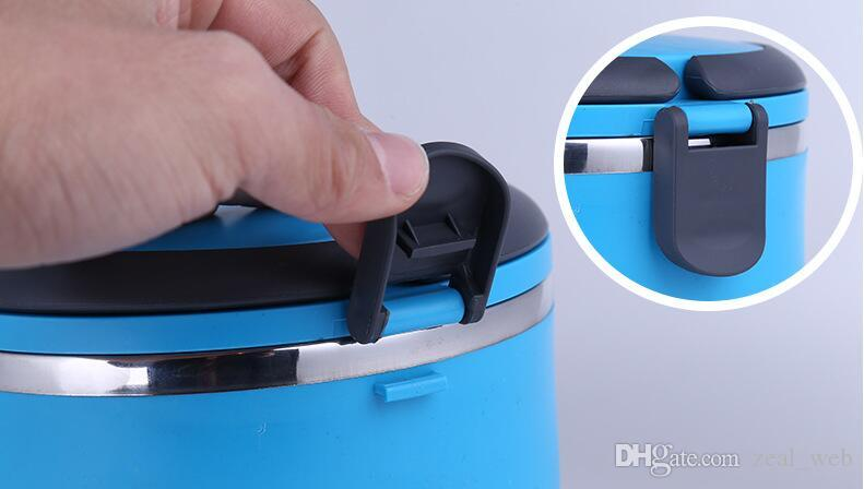 Am billigsten!!! 304 edelstahl lunchbox Frischhaltedose Thermo Bento Box mit griff versandkostenfrei