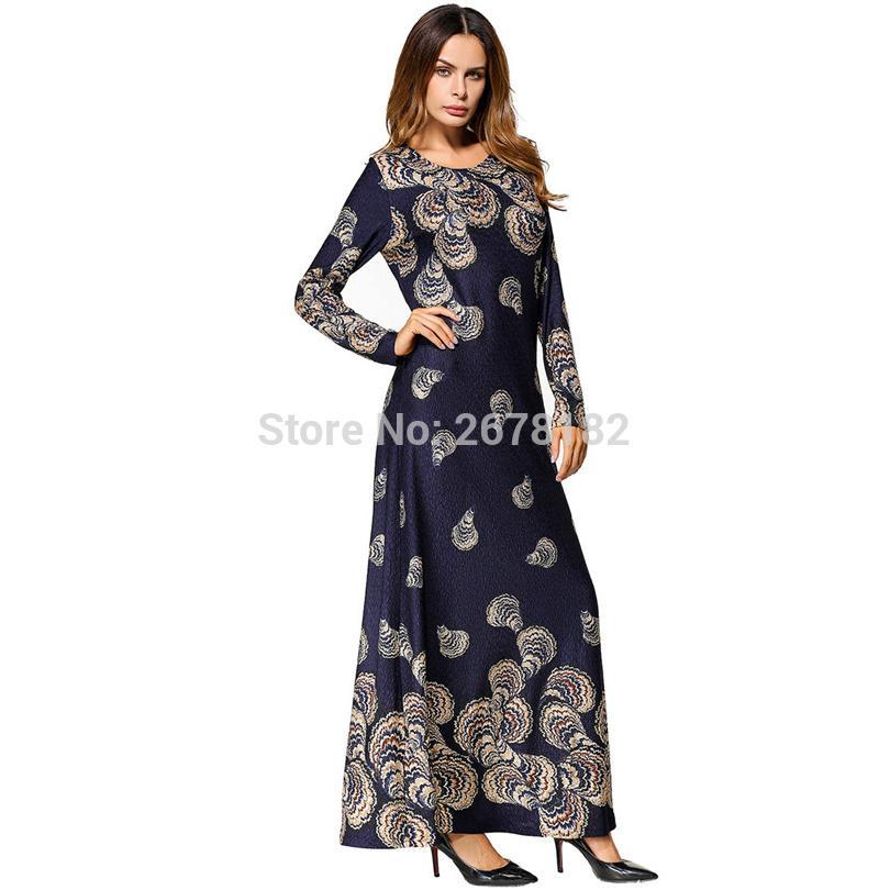 Acheter Musulman Maxi Robe Coton Tricoté Abaya Moyen Orient Robe Longue Robe  Marocaine Dubaï Ramadan Culte Arabe Islamique Paryer Vêtements De  33.72 Du  ... 7e498bef3a3
