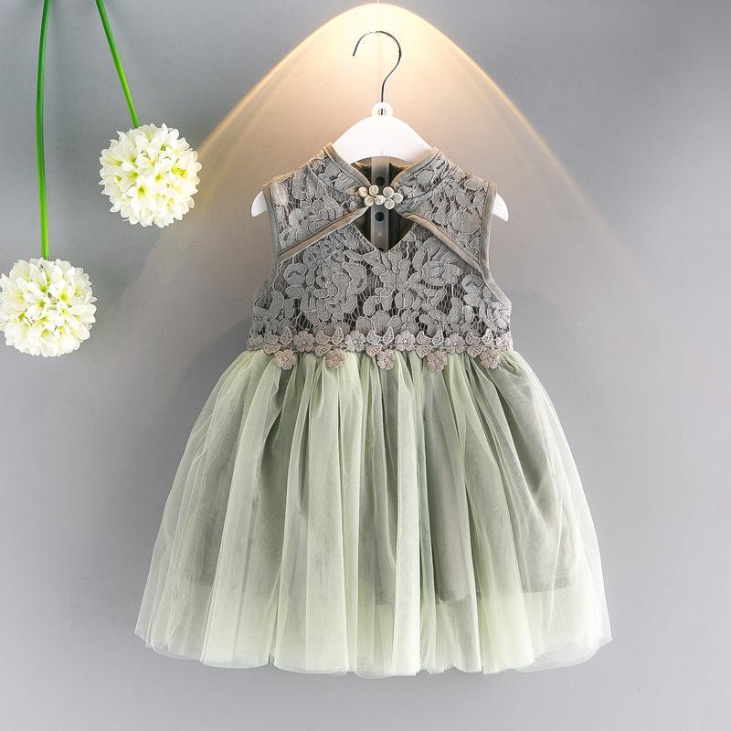 a37d06621812 Hollow Out Floral Girl Dresses Summer Children Dresses Cute Baby ...