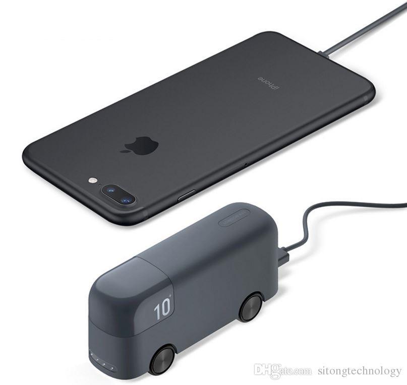 juguetes para el automóvil para el teléfono móvil charg Gran capacidad Mini Power Bank Cargo general Treasure Extra Power Backup Power