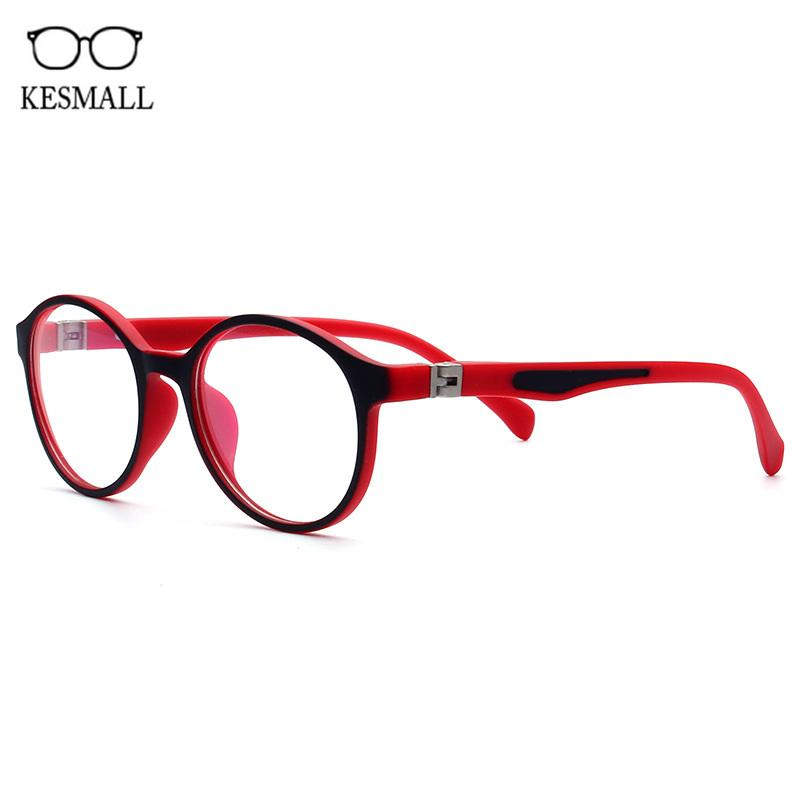 b19e84bd118 KESMALL New Fashion Children Myopia Eyewear Frame Boys Girls Ultra-light  Computer Gaming Glasses Frames Marco De Lentes XN894 Eyewear Frames Cheap  Eyewear ...