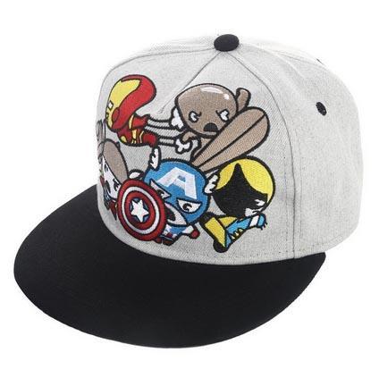 Compre 2018 Novo Algodão Dos Desenhos Animados Maravilhas Capitão América  Homem De Ferro Bonés De Beisebol Para Homens Mulheres Ajustável Hip Hop  Snapback ... c114f247399