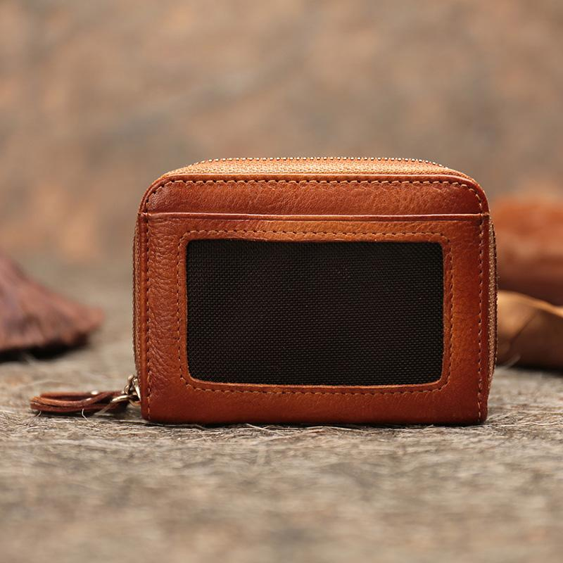 d720d352a45 Mini Women Wallets 2018 Autumn New Multi Holder Handmade Retro Pouch Coin  Bags Lady Leather Purse Square Wallet Man Purse My Wallet From Snailhome,  ...