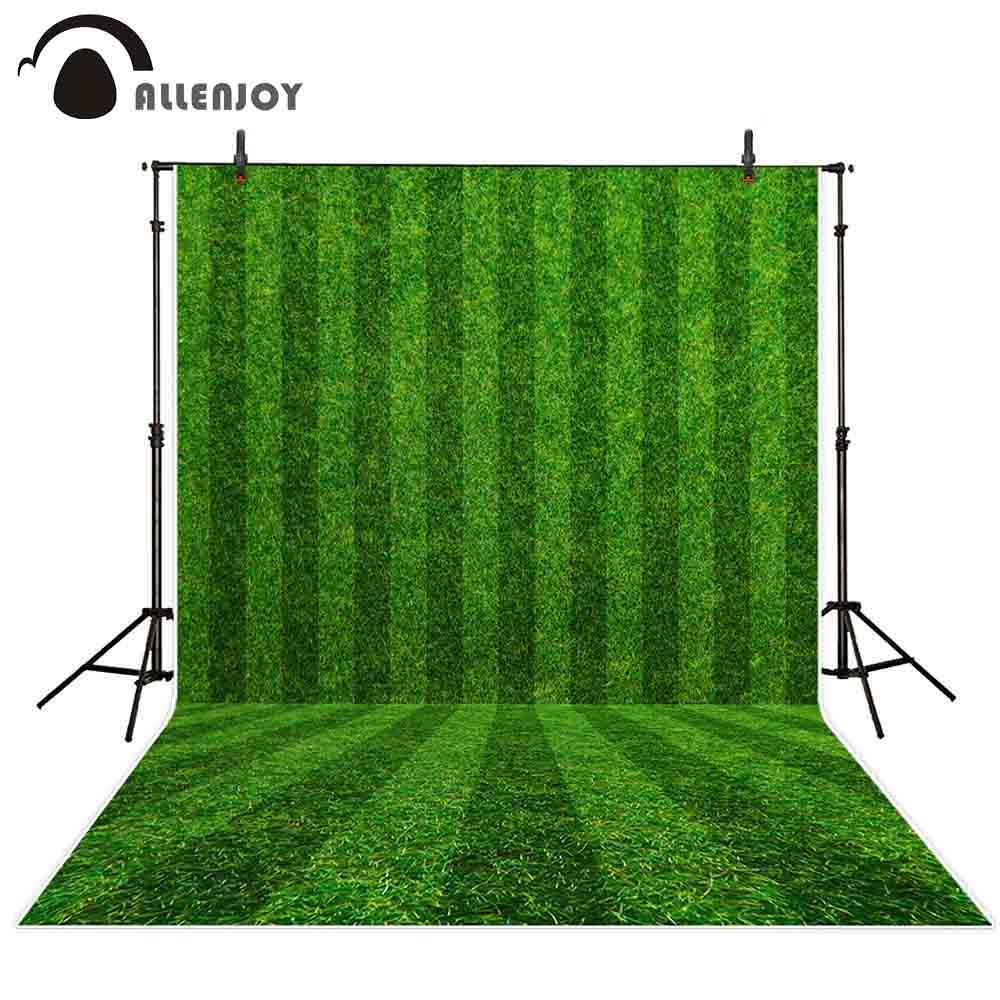 wholesale photocall photo background green football field abstract nature outdoor turf children activity photography backdrops