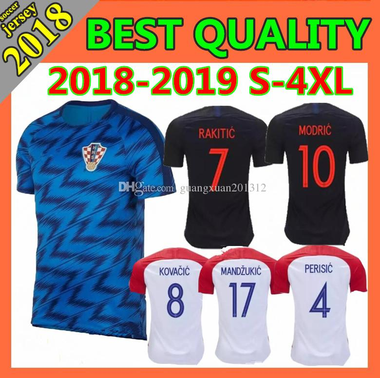 5f73c8e708f 2019 Size S 2XL 2018 2019 World Cup MODRIC Home Red Soccer Jersey PERISIC  RAKITIC MANDZUKIC SRNA KOVACIC 18 19 Men Football Shirts From  Guangxuan201312, ...